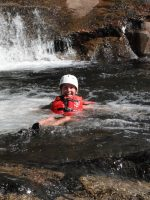 White water rafting in Maine, USA