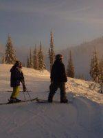 ski photo, Alberta
