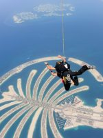 Skydive Dubai - leaving the plane