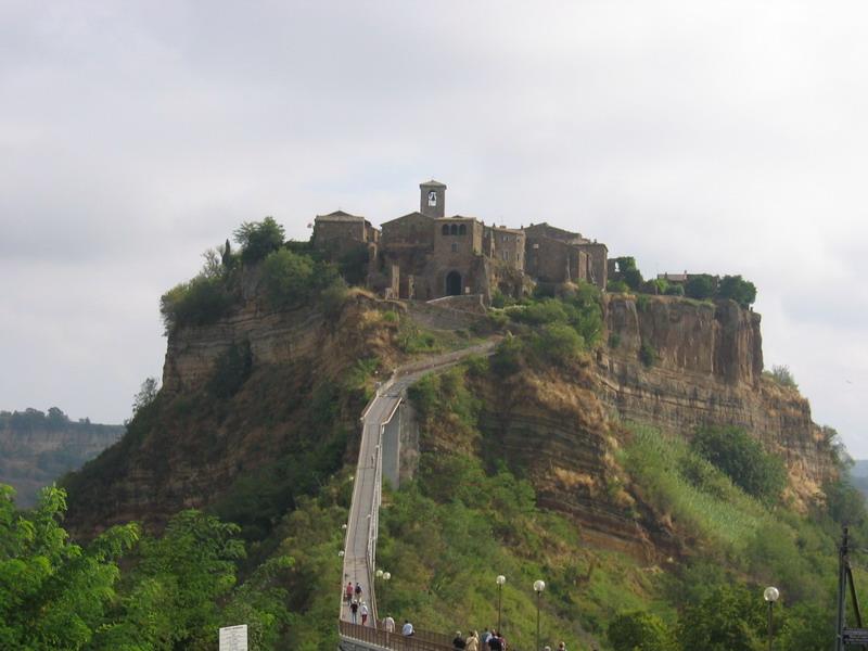 Civita de Bagnoregio, Italy