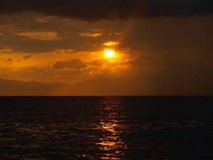 Sunset in Costa Rica