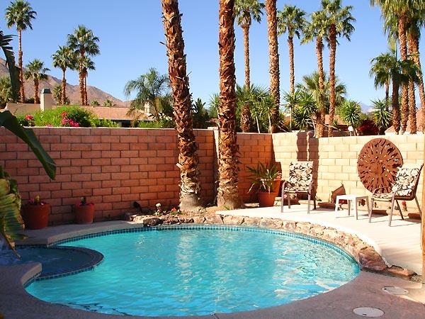 Private pool, Palm Springs, California