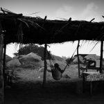 lady hammock, Chacahua, Mexico