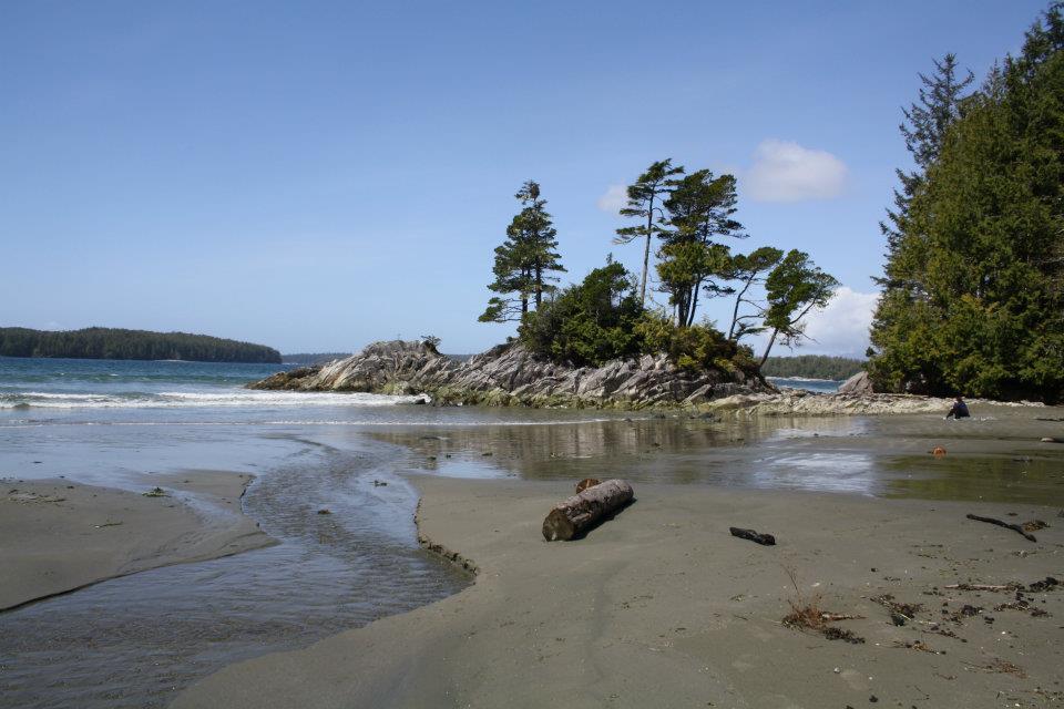 Tofino, BC beach