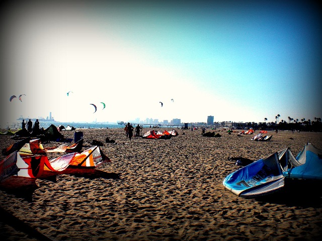 Kiteboarding in California