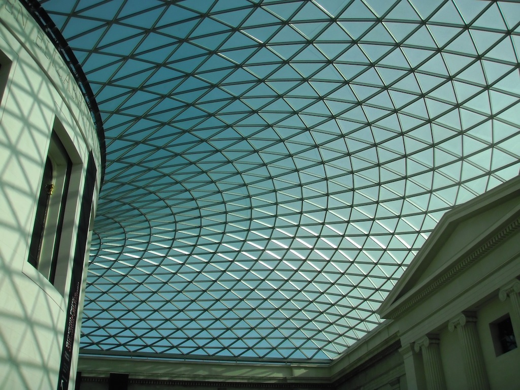 Covered Courtyard of the British Museum
