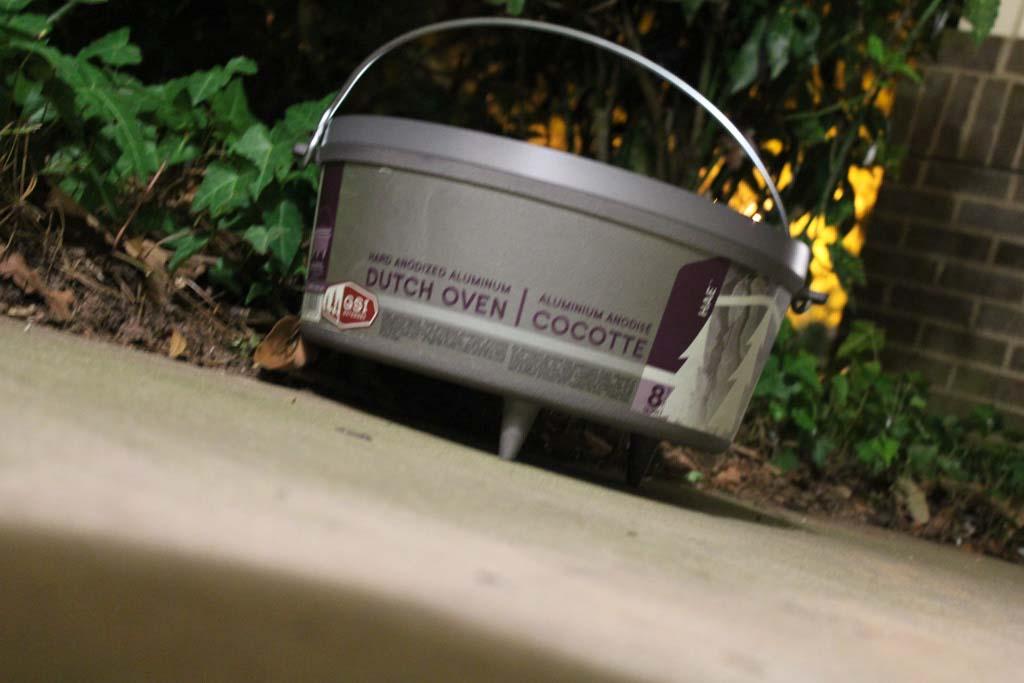 "GSI's 14"" Hard Anodized Dutch Oven"