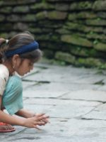 playing marbles in nepal