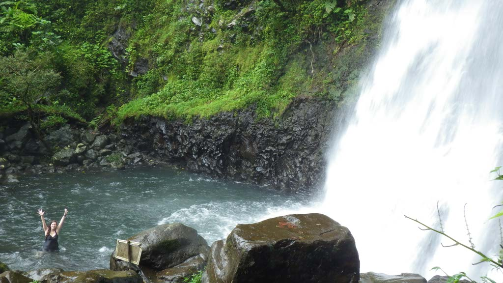 Fiji waterfalls