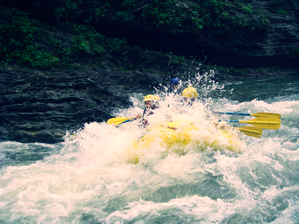 Rafting the Upper Navua River, Fiji