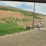 Walking alongside the dump