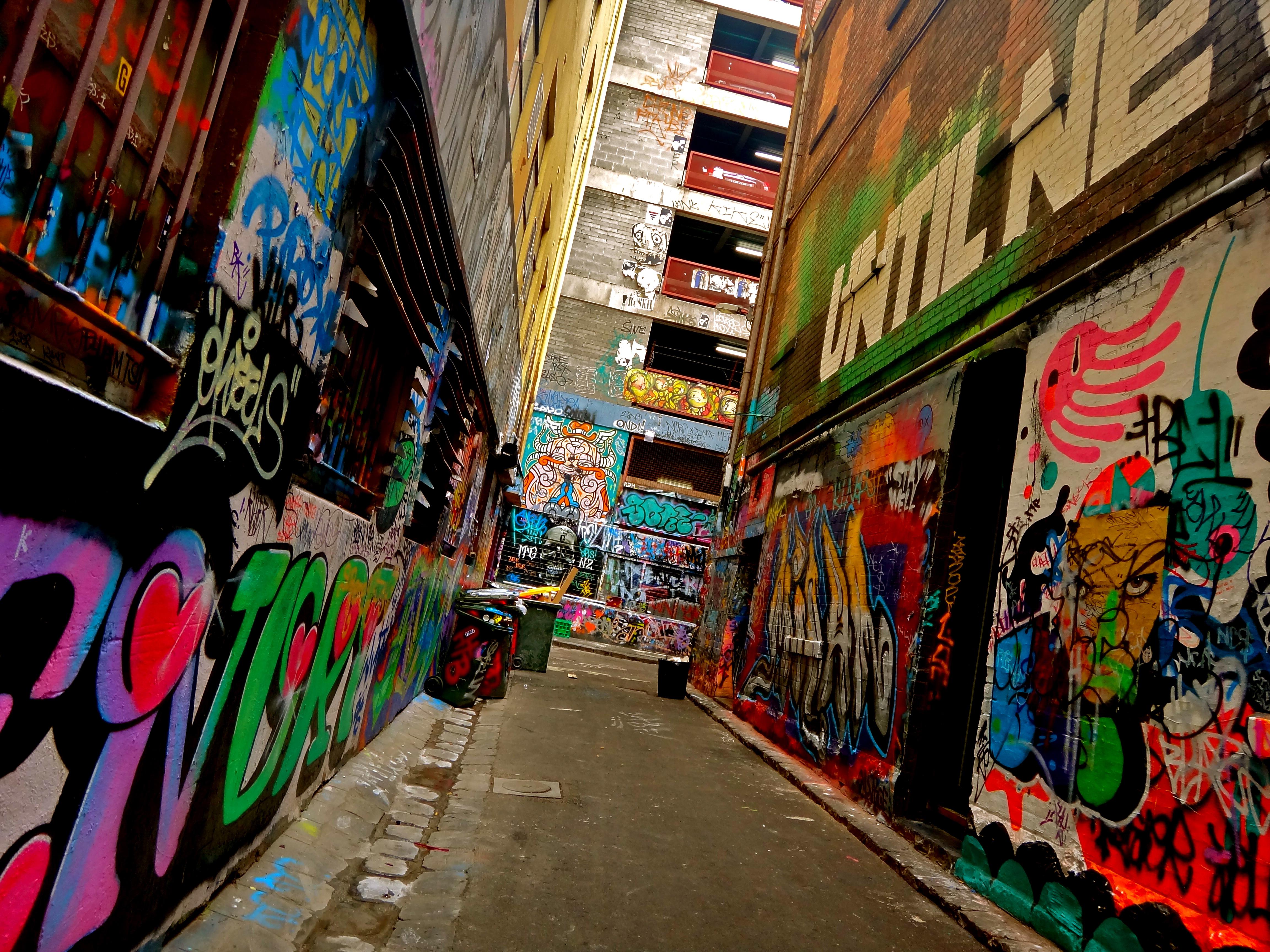 Graffiti in Melbourne CBD