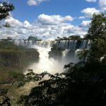 A view of the falls from the Lower Iguazu River