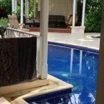 Barbados hotel pool