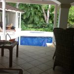 Barbados accommodation pool
