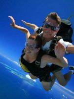 Skydiving in Fiji