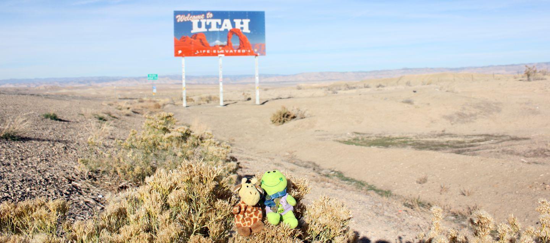 Utah state sign