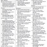 Newport Coast Villas Schedule