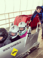 Bobsledding in Latvia