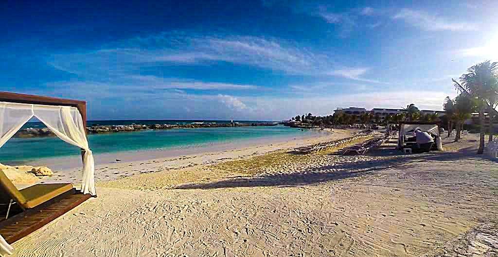 Beach at Hard Rock Riviera Maya