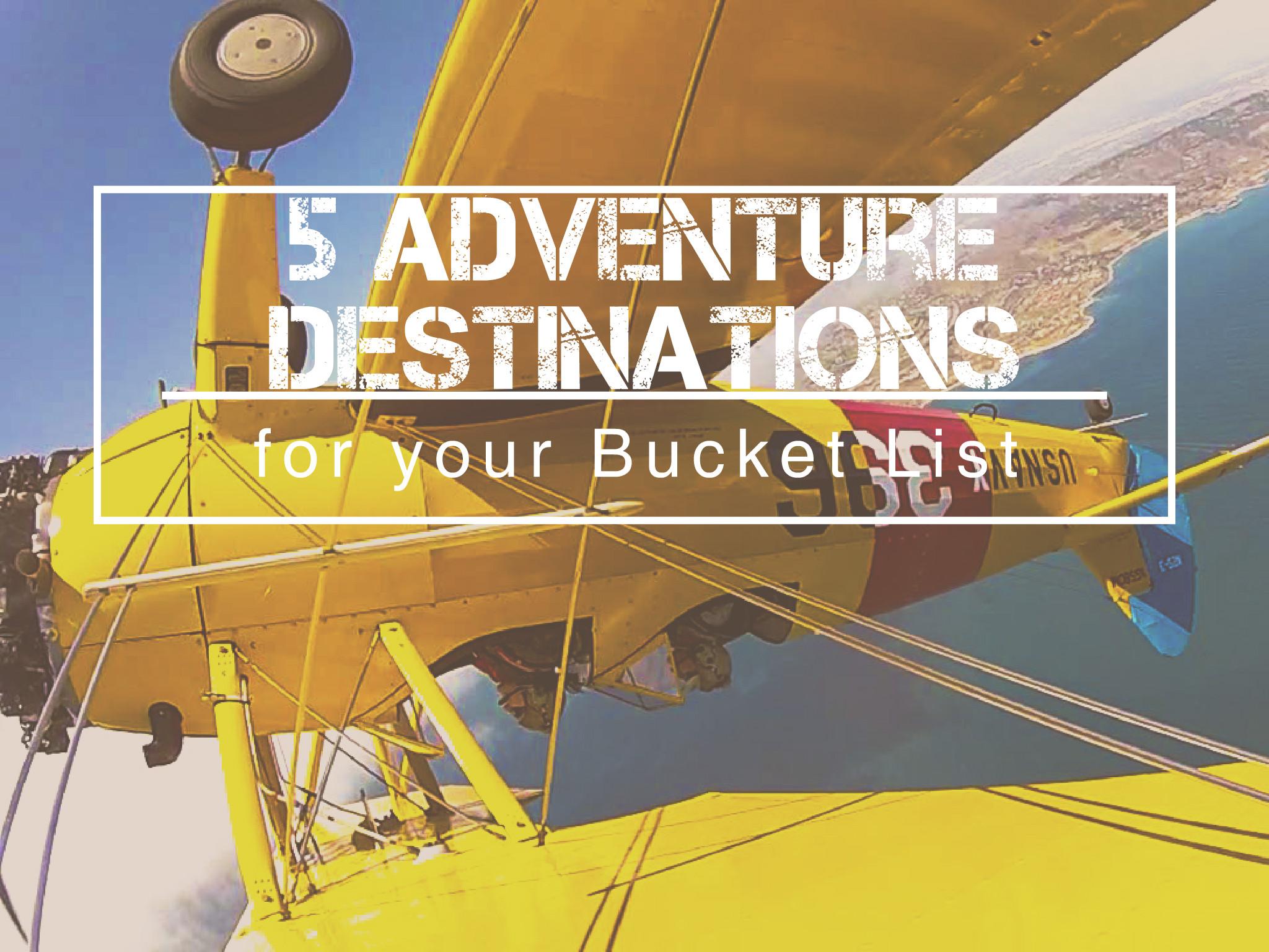 Adventure Destinations