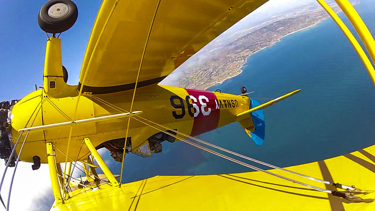 California Adventure Bucket List - Biplane Fun