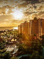 Disney Aulani Sunset, Oahu, Hawaii