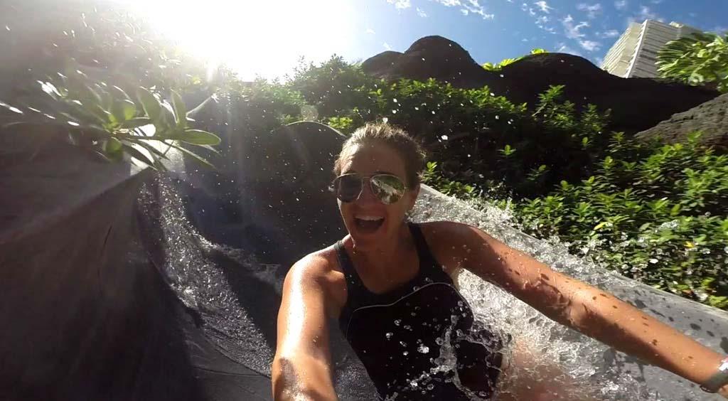 Water Silde Hilton Hawaiian Village