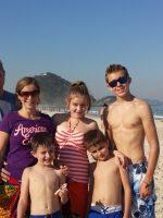 Family Photo in Rio