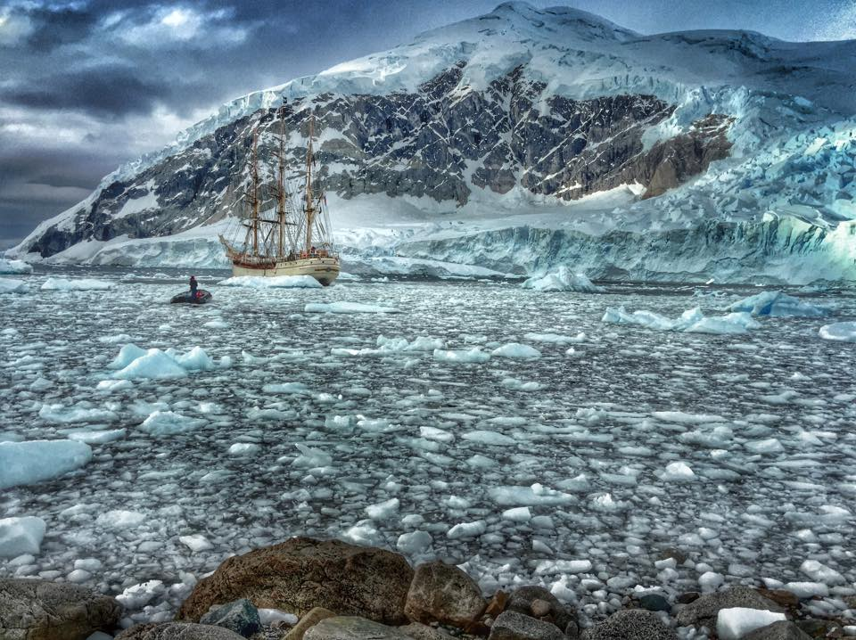 Ice in Neko Harbour