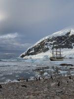 Bark Europa in Antarctica
