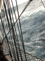 Drake Passage on Bark Europa