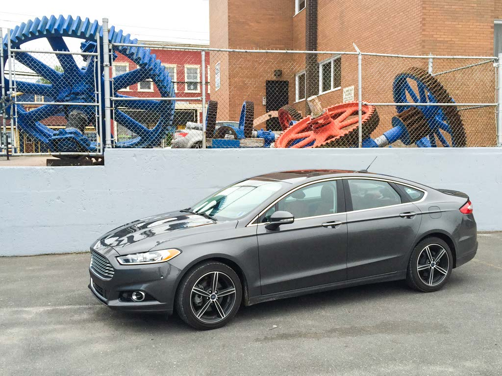 2015 Ford Fusion Test Drive
