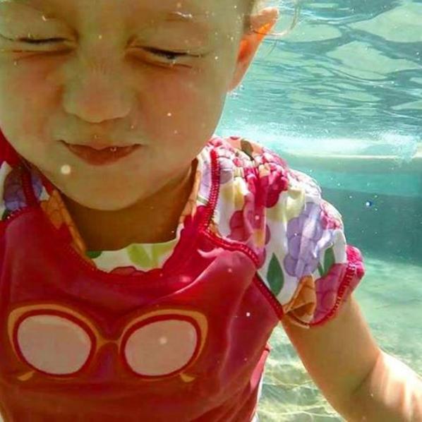 Athena under water at JW Marriott Phuket