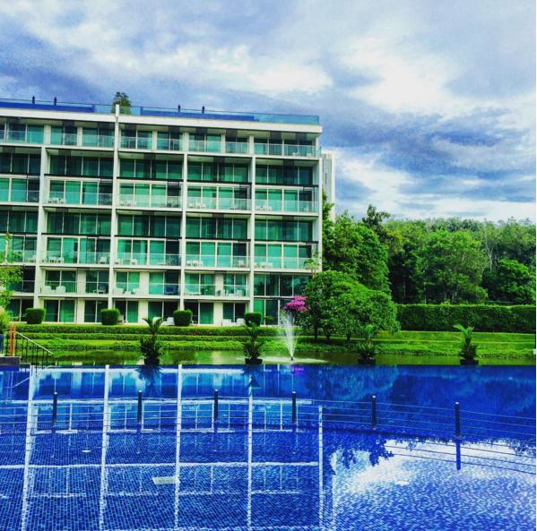 Pool view at Outrigger Laguna Phuket Resort & Villas