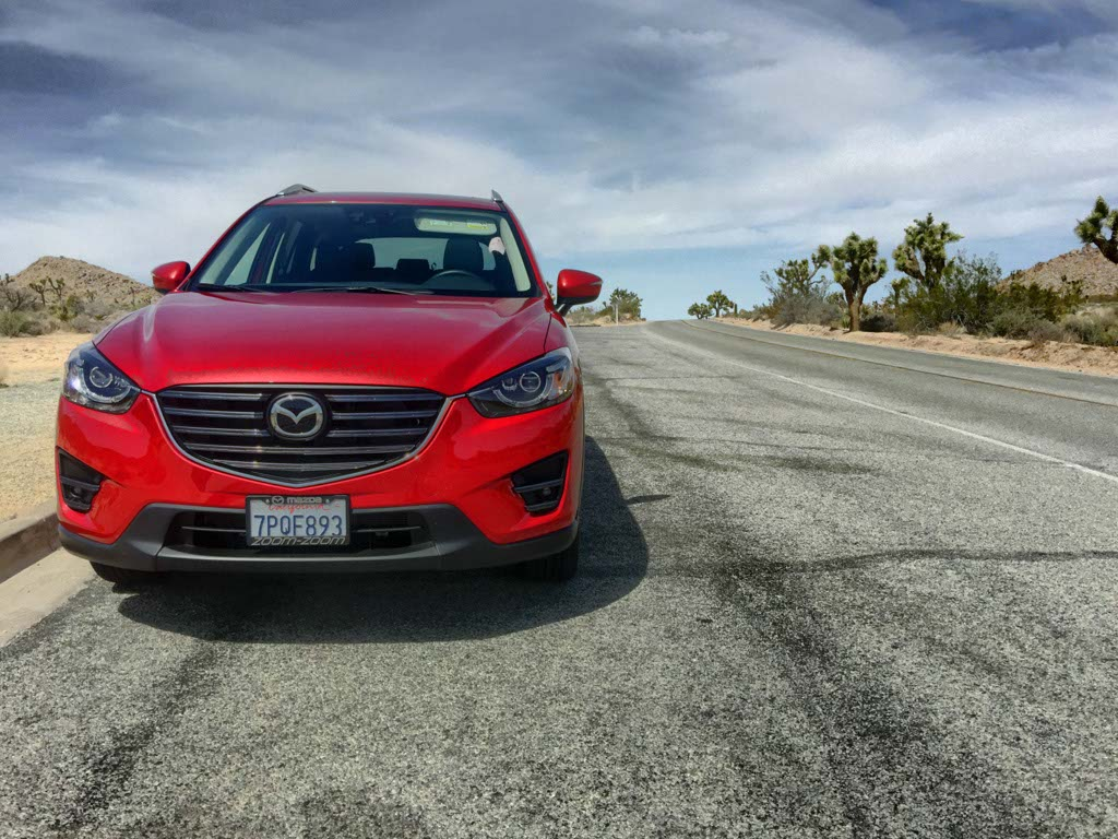 DrivingMatters road trip to Joshua Tree National Park with Mazda