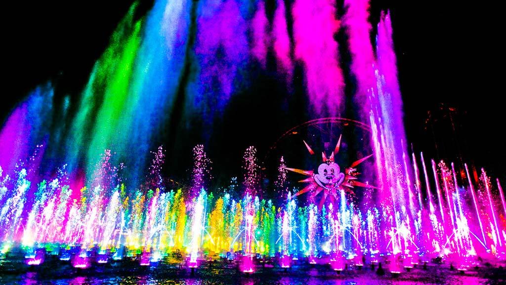 World of Color Dessert Party, Disneyland, California