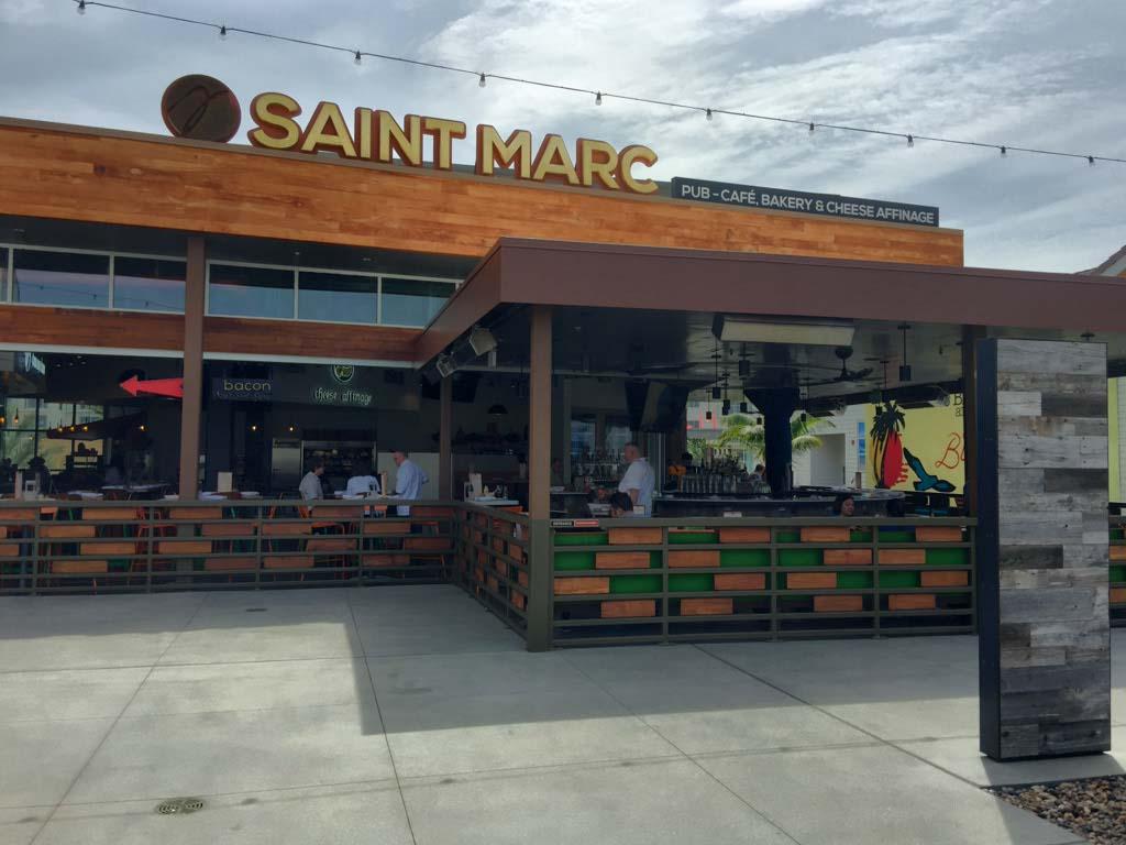 Saint Marc restaurant in Huntington Beach, California