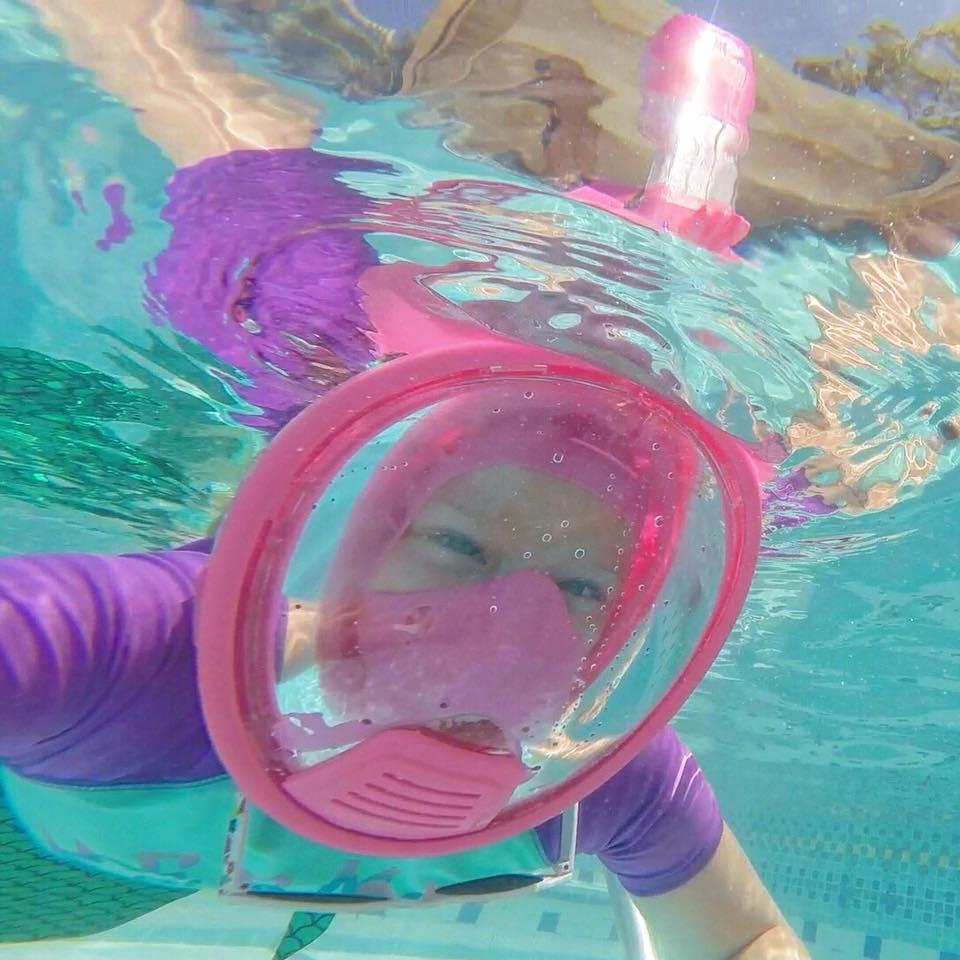 Full face snorkeling mask by Cobra Mask