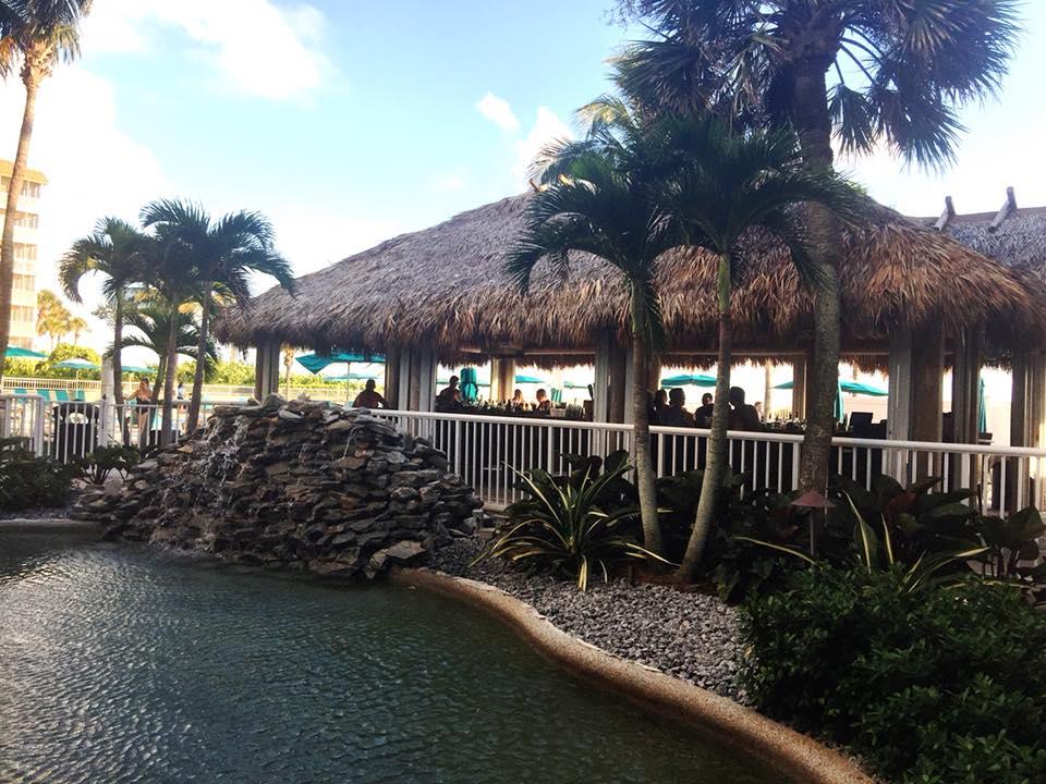 Lido Beach Resort Tiki Bar
