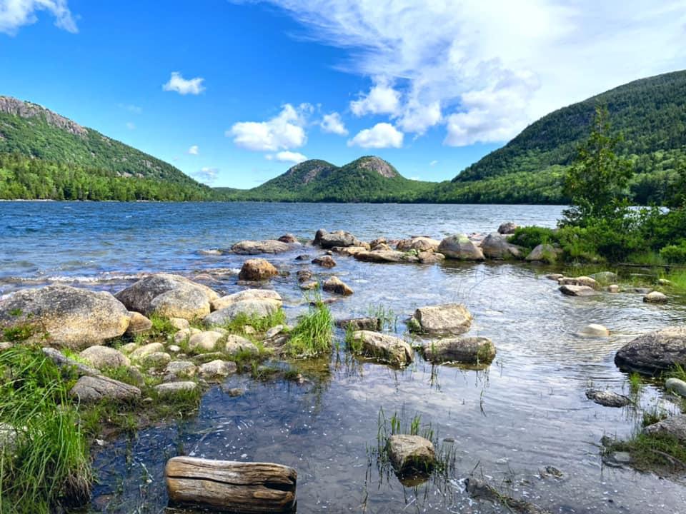 Jordan Pond Acadia National Park Maine USA